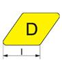 D length