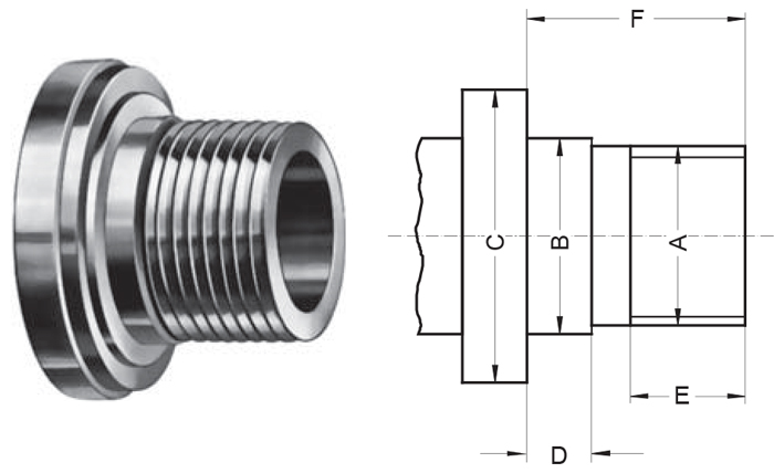 Type L - Long Taper mounting lathe chuck