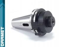 Tuleja redukcyjna DIN40 - Morse MS1 z płetwą - DARMET (DM-388)