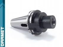 Tuleja redukcyjna DIN40 - Morse MS2 z płetwą - DARMET (DM-388)
