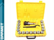 ER40 - ISO40 Collet Chuck Set - 15 pcs (DM-076)