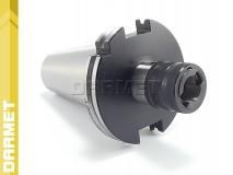 Oprawka do gwintowania uchwyt DIN50 na wkładki szybkowymienne gwint M3 - M12 - DARMET (DM-112)