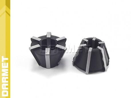 Tulejki zaciskowe gumowe RUBBER FLEX do GGZR - M5/M12 (2 szt.) - DARMET