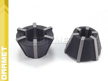 Tulejki zaciskowe gumowe RUBBER FLEX do GGZR - M8/M18 (2 szt.) - DARMET