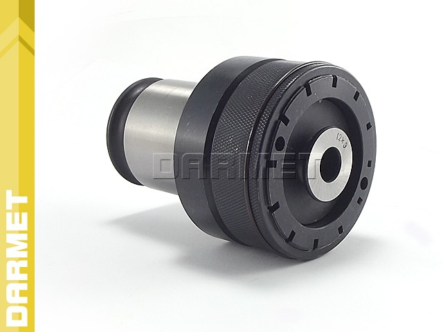 Quick-Change Tap Adapter for Heads with DIN69871 shank - GGZD 20 x 16 - 48MM, thread M27, M30 (DM-114)