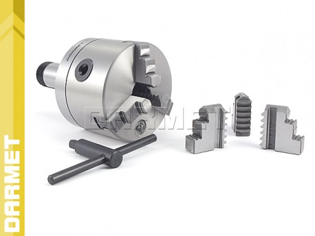 3-Jaw Lathe Chuck with 5C Mouting - 100MM (DM-376)