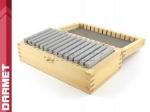 Zestaw 14 par | Bloczki równoległościenne | podkładki frezarskie 80 x 4 mm - DARMET (PB150-3)