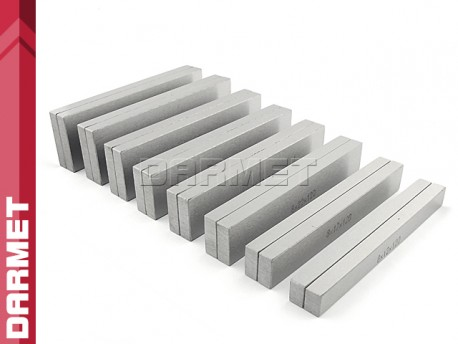 Zestaw 8 par | Bloczki równoległościenne | podkładki frezarskie 120 x 8 mm - DARMET (PB156-1)