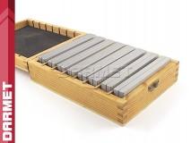 8 pairs Parallel Set 120x8mm 12-38mm range of heights - DARMET (PB156-1)
