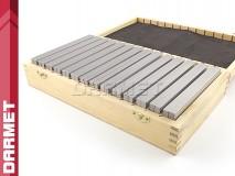 Zestaw 14 par | Bloczki równoległościenne | podkładki frezarskie 150 x 8 mm - DARMET (PB150-2)