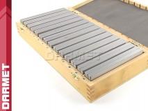 Zestaw 14 par | Bloczki równoległościenne | podkładki frezarskie 150 x 10 mm - DARMET (PB150-1)