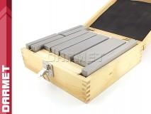 Zestaw 9 par | Bloczki równoległościenne | podkładki frezarskie 100-200 x 5-31 mm - DARMET (PB161)