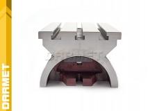 Stół frezarski uchylny 178MM x 254MM z rowkiem T-owym 13MM (SUZ 178/254)