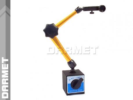 Statyw magnetyczny przegubowy z zaciskiem mechanicznym do czujników - Darmet (104)
