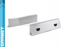 Wkładki szczękowe gładkie 125MM (komplet) do imadeł precyzyjnych FPZ FPZB - DARMET