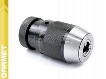 Uchwyt wiertarski 20mm samozaciskowy na stożek B22 - DARMET (J0120-P)