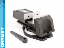 Imadło maszynowe obrotowe 125 mm do frezarki - FQ125/100 DARMET