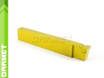 Wide Face Turning Tool Bit DIN 4976 - U20 (M20), 25x16, for Stainless Steel