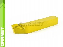 Offset Side Turning Tool Bit DIN 4980, Left - U10 (M10), 20x20, for Stainless Steel