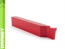 Parting-off Turning Tool Bit DIN 4981, Right - H20 (K20), 40x25, for Cast Iron