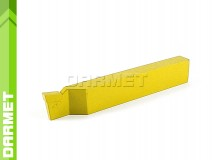 Parting-off Turning Tool Bit DIN 4981, Left - U10 (M10), 25x16, for Stainless Steel