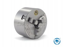 3-Jaw Self-Centering Lathe Chuck: 80MM (DIN-6350) - BISON BIAL (3204-80)