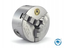 3-Jaw Self-Centering Lathe Chuck: 100MM (DIN-6350) - BISON BIAL (3204-100)