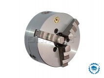 3-Jaw Self-Centering Scroll Lathe Chuck: 200MM (DIN-55026) - BISON BIAL (3514-200-5)