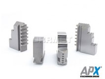 Hard Solid Jaws for Internal Clamping: 125MM - APX (STW4)