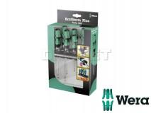 Screwdriver Set with Rack, Kraftform Plus Lasertip 335/350/355/6, 6 pcs - WERA (05105622001)