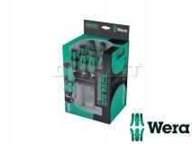Screwdriver Set with Rack, Kraftform Big Pack 300, 14 pcs - WERA (05105630001)