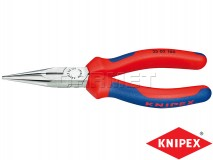 Snipe Nose Side Cutting Pliers, Length: 160MM, Cutting Capacity: 2,5MM - KNIPEX (25 02 160)