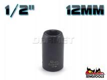 "6-Point Impact Socket 920512-C, 1/2"" Drive - 12MM - TENG TOOLS (10178-0096)"