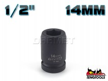 "6-Point Impact Socket 920514C, 1/2"" Drive - 14MM - TENG TOOLS (10178-0153)"