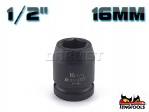 "6-Point Impact Socket 920516C, 1/2"" Drive - 16MM - TENG TOOLS (10178-0302)"