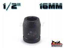 "6-Point Impact Socket 920516C, 1/2"" Drive - 16MM - TENG TOOLS (10178-0302)"