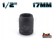 "6-Point Impact Socket 920517C, 1/2"" Drive - 17MM - TENG TOOLS (10178-0401)"