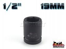 "6-Point Impact Socket 920519C, 1/2"" Drive - 19MM - TENG TOOLS (10178-0609)"