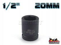 "6-Point Impact Socket 920520C, 1/2"" Drive - 20MM - TENG TOOLS (10178-0633)"