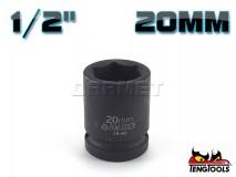 "6-Point Impact Socket 920520C, 1/2"" Drive - 20MM - TENG TOOLS (10178-0633)"