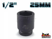 "6-Point Impact Socket 920525C, 1/2"" Drive - 25MM - TENG TOOLS (10178-0815)"