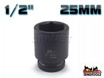 "6-Point Impact Socket 920525C, 1/2"" Drive - 25MM - TENG TOOLS (10178-0815)"