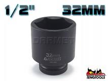 "6-Point Impact Socket 920532C, 1/2"" Drive - 32MM - TENG TOOLS (10178-0872)"