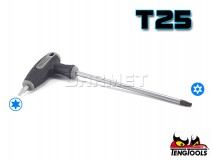 Torx Key with T-handle - TX/TPX25 - TENG TOOLS (10180-0407)