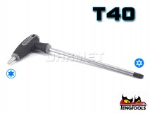 Torx Key with T-handle - TX/TPX40 - TENG TOOLS (10180-0704)
