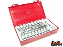 "Torx Socket Set TTTX30, 1/4"" and 3/8"" Drive, 30 pcs - TENG TOOLS (10214-0100)"