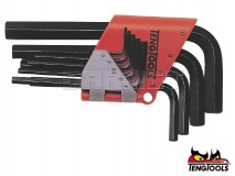 Hex Key Set, 9 pcs - TENG TOOLS (11269-0102)