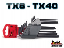 Torx Key Set, 9 pcs - TENG TOOLS (11660-0107)