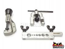 Flanging Tool Set TTTF10 - 10 pcs - TENG TOOLS (14404-0102)