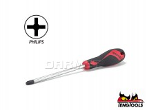 Phillips Screwdriver, Stubby, MD949N - PH3 x 150MM - TENG TOOLS (17777-1003)